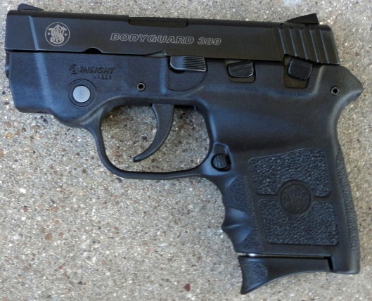 S&W Bodyguard .380ACP semiautomatic double action only pistol