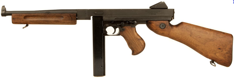 Thompson M1 Submachine Gun