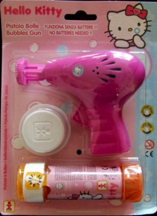 Evil and Destructive Assault Hello Kitty Bubble Gun of Death