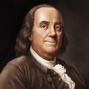 Benjamin Franklin Credit: earlytorise.com