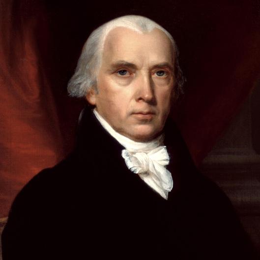 James Madison Credit: wikipedia.org