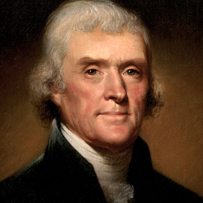 Thomas Jefferson Credit: Biography,com