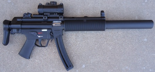 3 MP5 Right Side, Collapsed