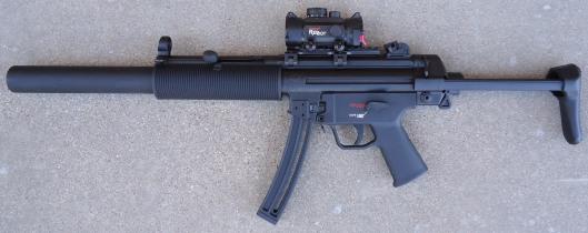 MP5 SD6, Left Side