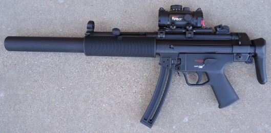 5 MP5 Left Side, Collapsed