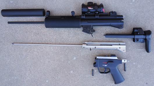 7 MP5 Broken Down