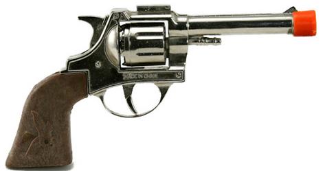 Loaded toy cap gun of death