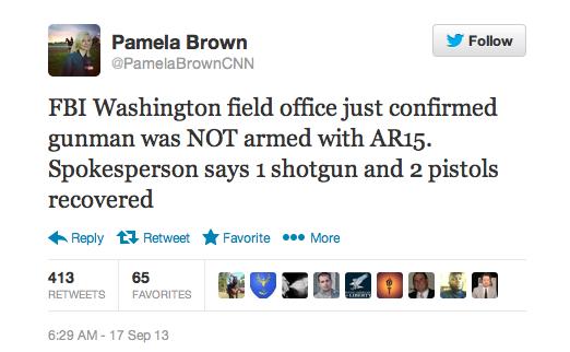 Brown Tweet