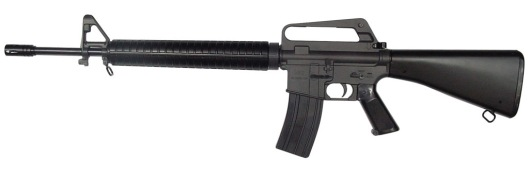 Contemporary M-16 credit: captblackeagle.blogspot.com
