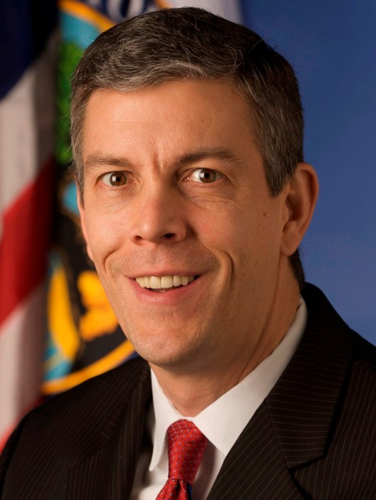 Education Secretary Arne Duncan credit: irjci.blogspot.com