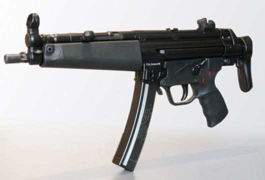 H&K MP5 credit: de.wikipedia.org