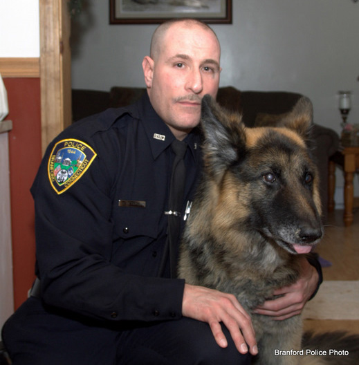 The face of tyranny? Branford Police Officer Joe Peterson credit: bearingarms.com