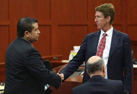 George Zimmerman and Mark O'Mara