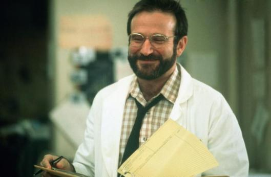 "Robin Williams in ""Awakenings"""
