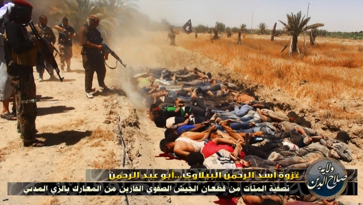 """Subhuman ISIS murders engaged in a """"crime"""" credit: zerohedge.com"""