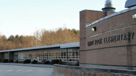 Sandy Hook Elementary as it once appeared