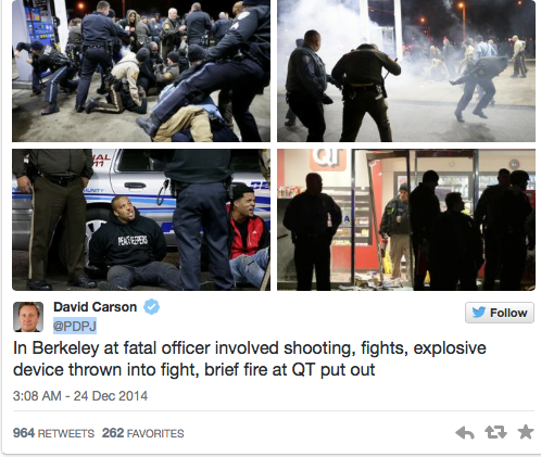 Berkley Riots