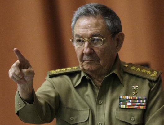Raul Castro credit: hoy,com.do