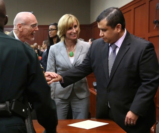 George Zimmerman on a happier day...