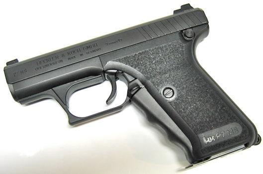 H&K P7M8. 9mm