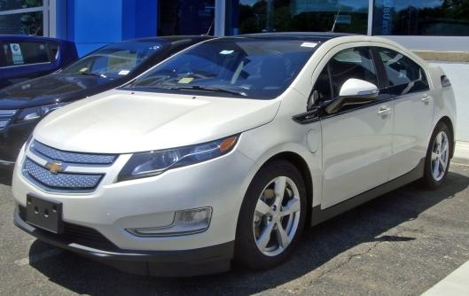 2015 Chevrolet Volt credit: en.wikipedia.com