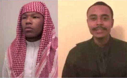 Left: Brandon Muhammad; Right: Olojuwon Ali Davis