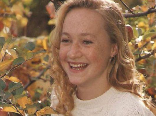Rachel Dolezal when she was a white, freckled, blonde, blue-eyed girl