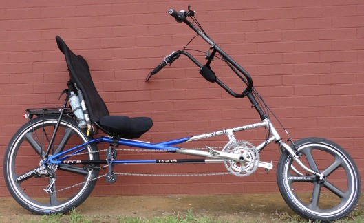 Stratus by Rans, a long wheelbase recumbent