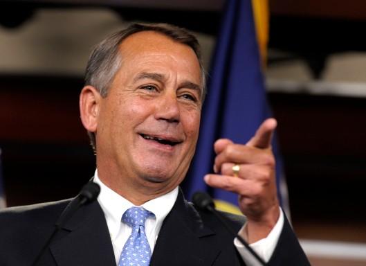 House Speaker John Boehner  credit: msnbc,com