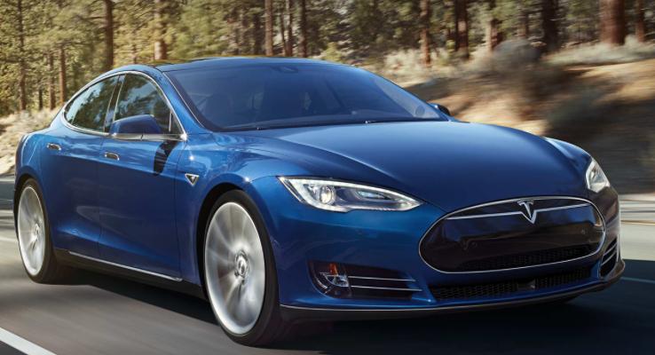 Tesla Model S credit: teslamotors.com