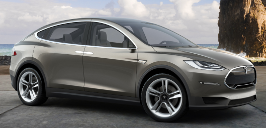 Tesla Model X credit: teslamotors.com