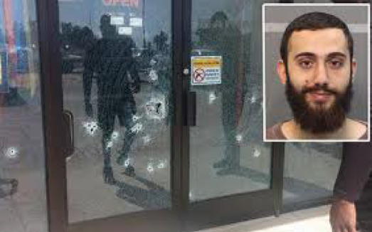 Muhammed Youseff Abdulazeez and his handiwork. credit: telegraph.co.uk
