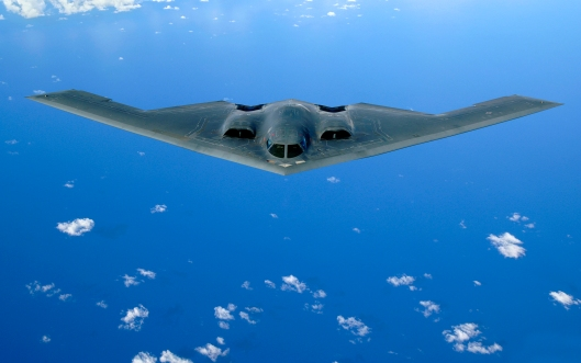 "B-2 ""Spirit"" bomber credit: wikipedia"