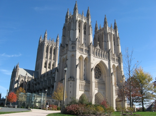 The troublesome National Cathedral. credit: haaretz.com