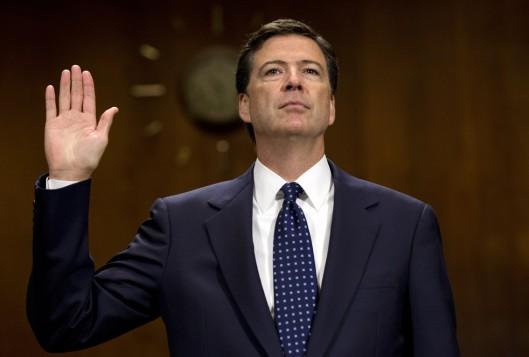 FBI Director James Comey credit: brendanhunt.com