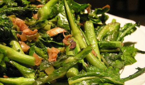 Rapini. The dish in question. credit: laurelf/flicker