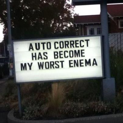 AutoCorrect-enema
