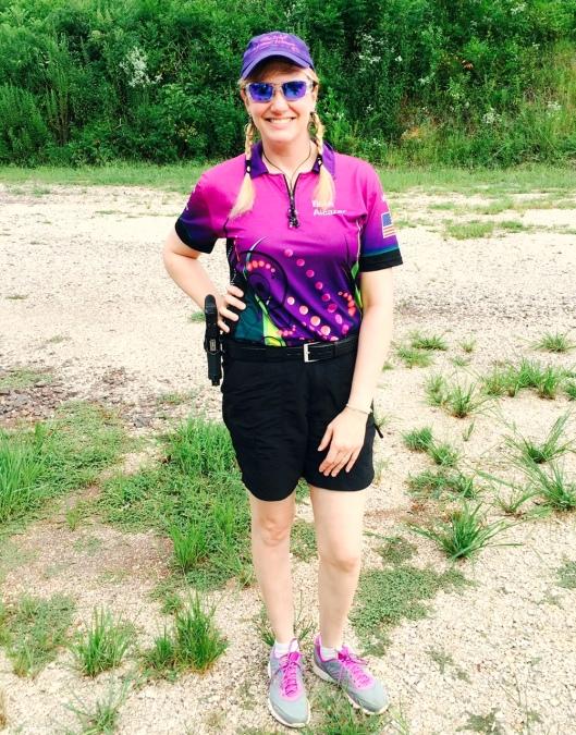 Beth Alcazar: NOT a gun dealer. credit: thewellarmedwoman.com