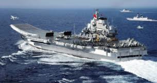 China's only aircraft carrier.