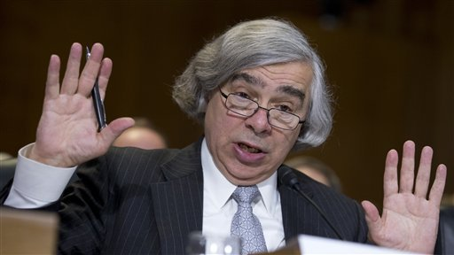 Ernest Moniz: A guy with a 3 year-old's haircut is running America's energy policy. credit: cleveland,com