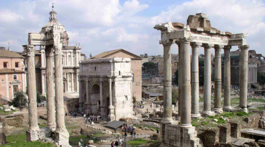 The Forum, Rome, Italy credit: wikipedia.en