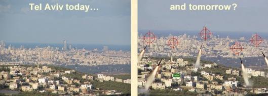 Tel Aviv under attack