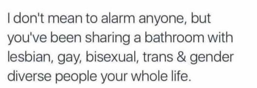 Sharing-bathrooms