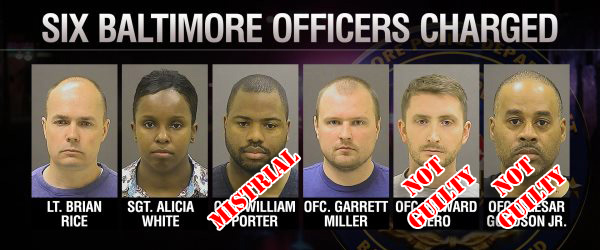 Image result for freddie gray police officers