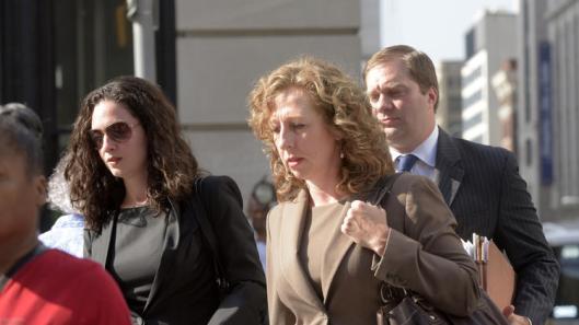 Lisa Phelps (center) credit: baltimoresun
