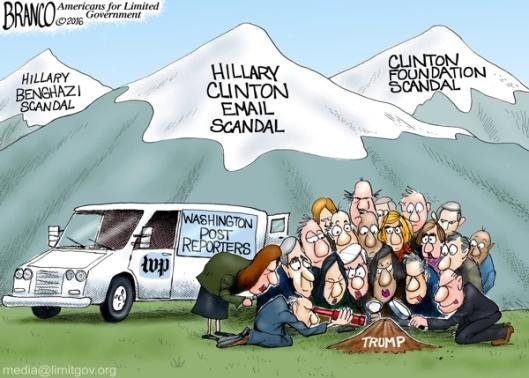 HillaryClinton-Scandals-vs-DonaldTrump-Attrib-AFBranco-ComicallyIncorrect-051716