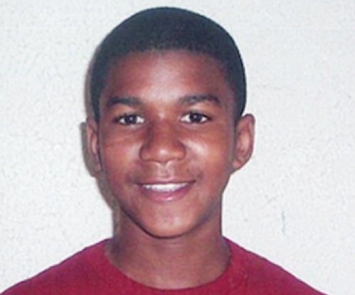 12 year-old Trayvon Martin
