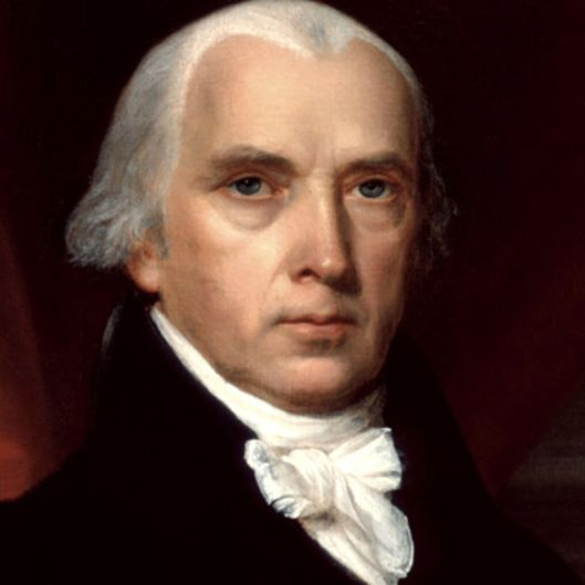 James Madison credit: biography.com
