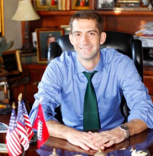 Sen. Tom Cotton credit: dailystormer.com