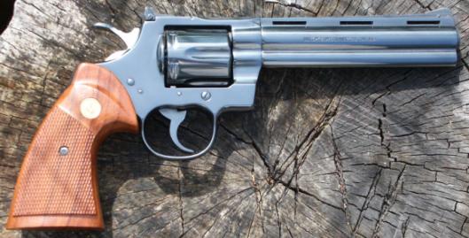 Colt Python credit: wikimediacommons